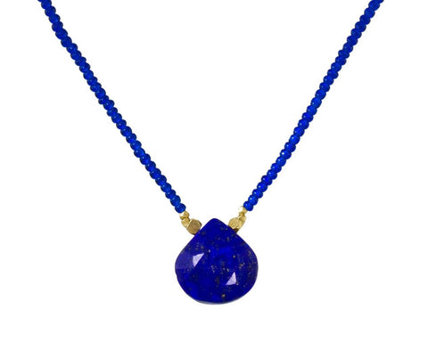 Lapis Pendant Necklace - TWISTonline