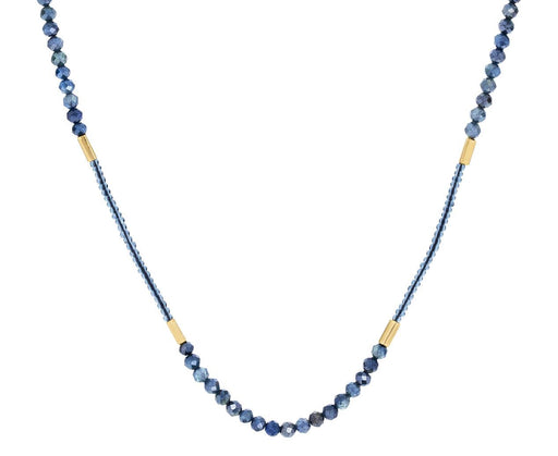 Gray Sapphire and Seed Bead Necklace - TWISTonline