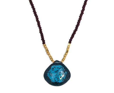 Apatite Pendant Necklace - TWISTonline