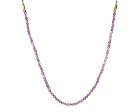 Pink Moonstone Beaded Necklace - TWISTonline