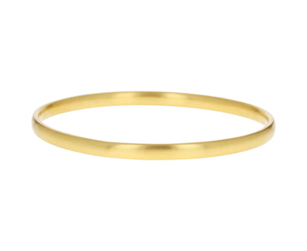 Oval Gold Bangle
