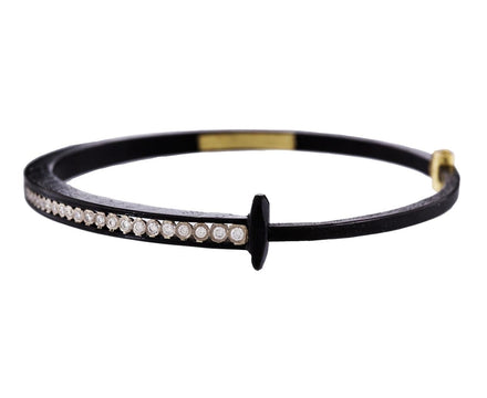Tapered Diamond Stripe Nail Bracelet - TWISTonline