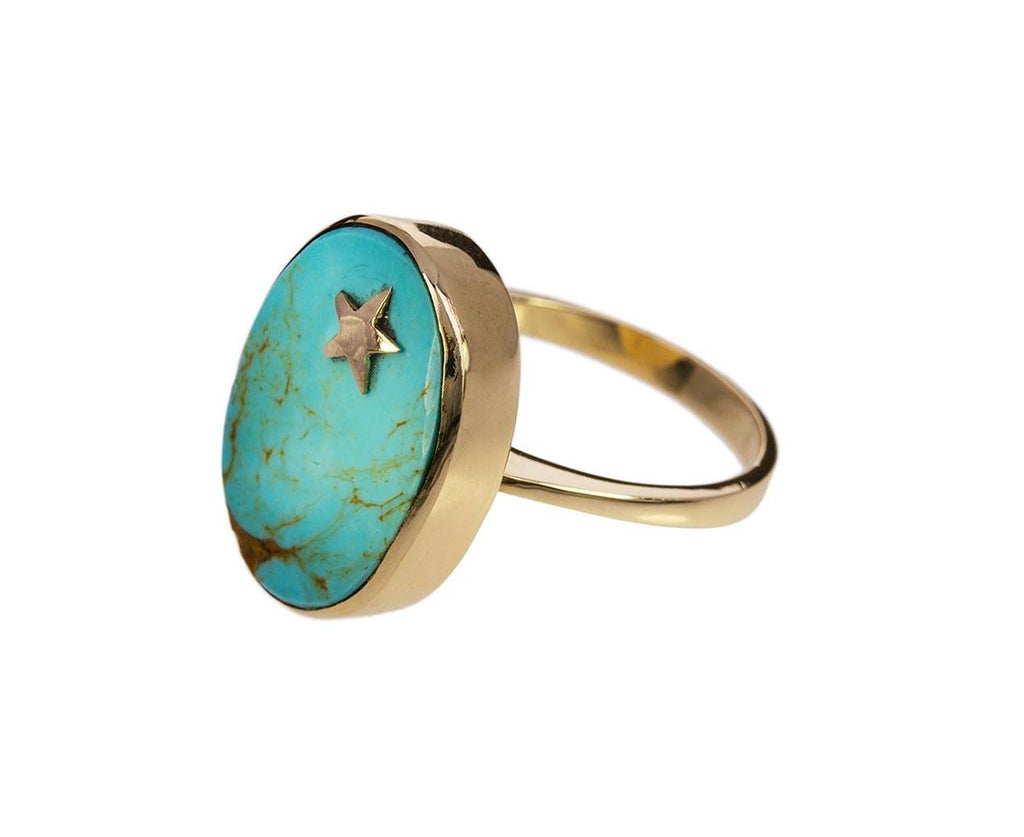 Turquoise Star Element Ring - TWISTonline