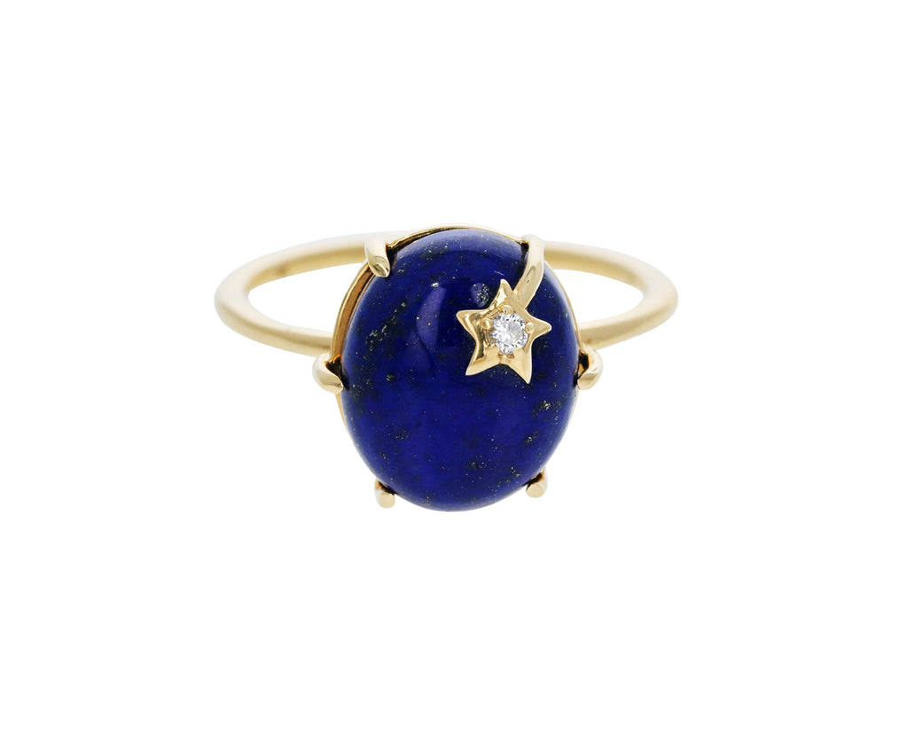 Lapis Mini Galaxy Ring