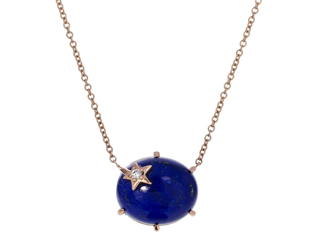 Lapis Mini Galaxy Star Necklace - TWISTonline