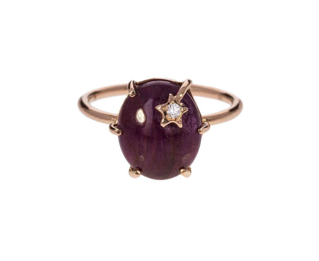Ruby Kyanite Shooting Star Ring - TWISTonline