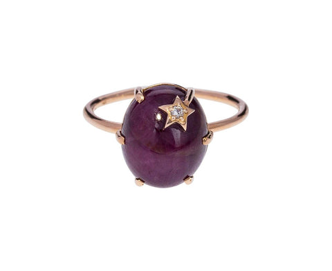 Ruby Mini Galaxy Ring - TWISTonline