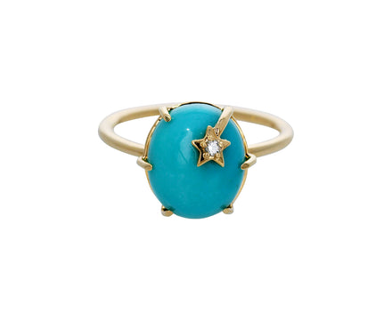 Turquoise Mini Galaxy Ring - TWISTonline
