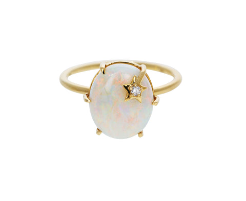 Opal Mini Galaxy Ring