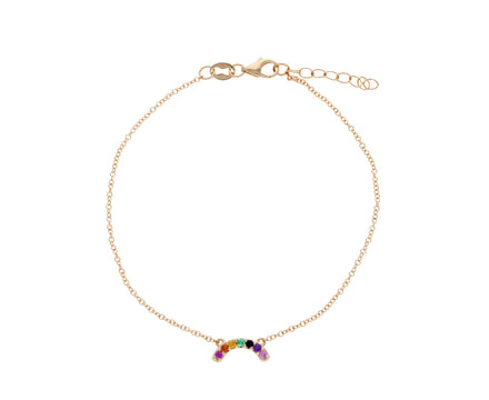Mini Rainbow Charm Bracelet - TWISTonline