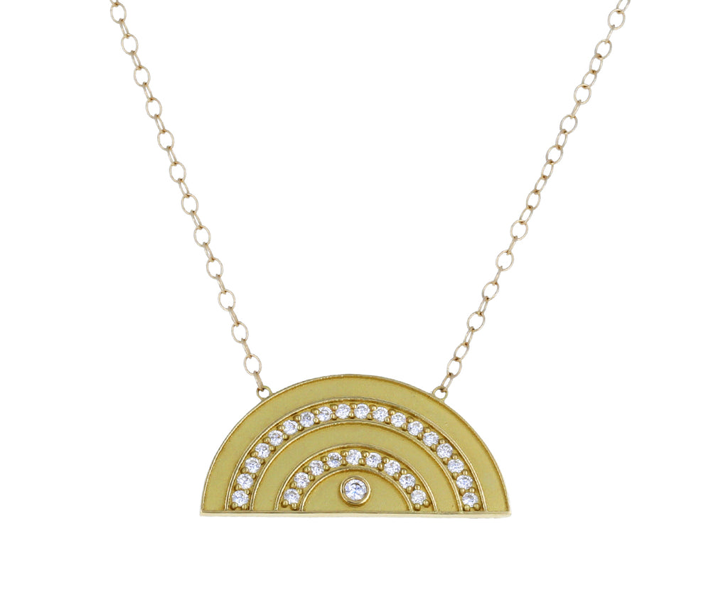 Gold and Diamond Rainbow Necklace - TWISTonline