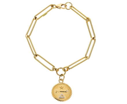 Baby Dream Medallion Extended Clip Bracelet