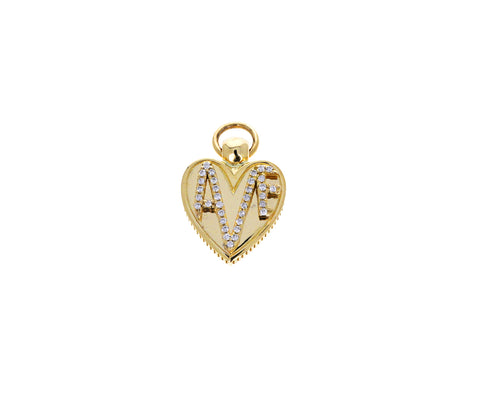 Diamond Amate Miniature Crest Pendant ONLY