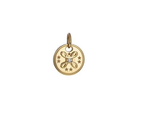 True Love Mini Coin Charm Pendant ONLY