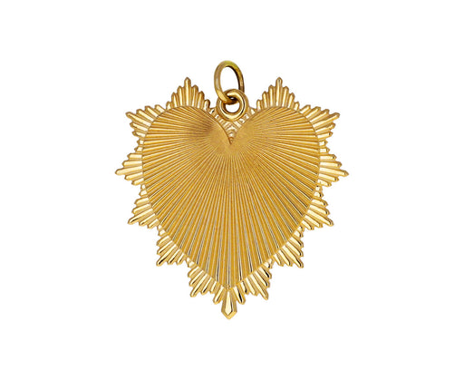 Gold Oversized Love Token Pendant ONLY