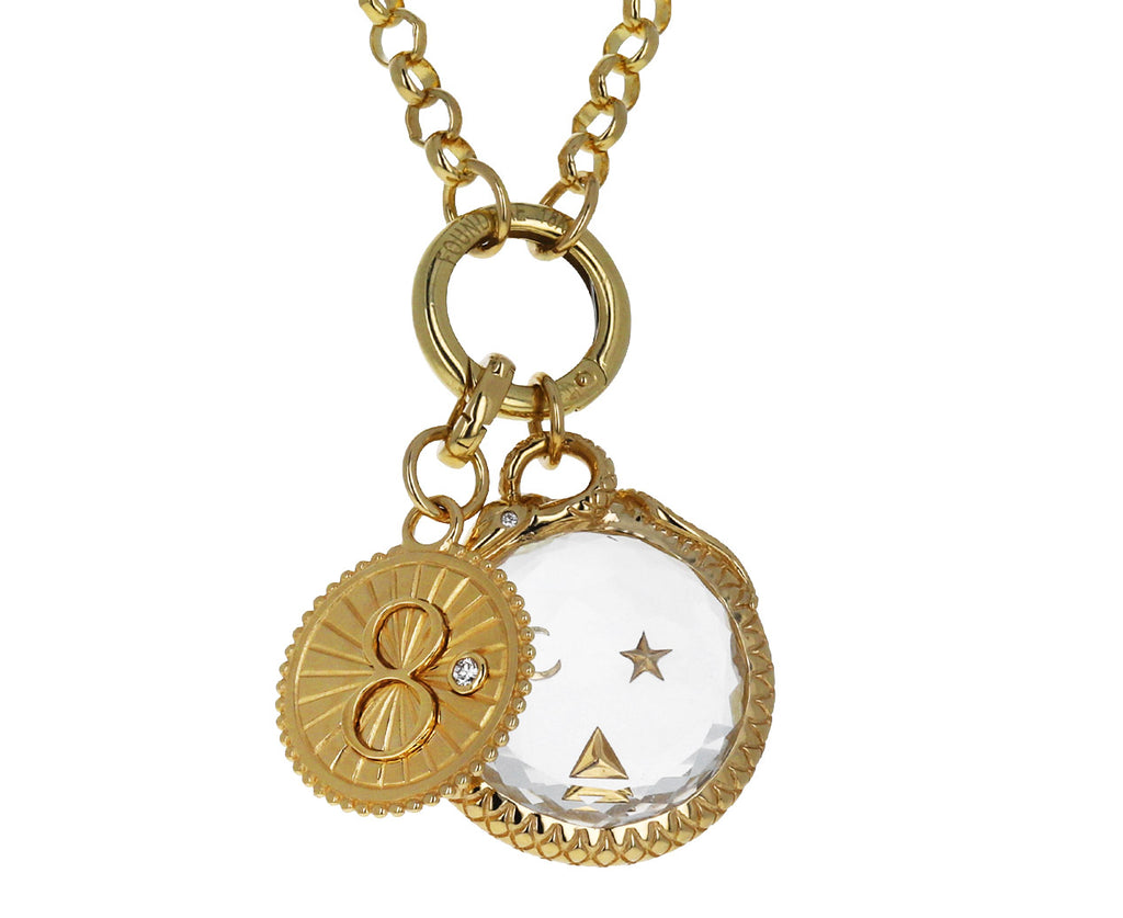 Baby Karma Medallion Pendant ONLY