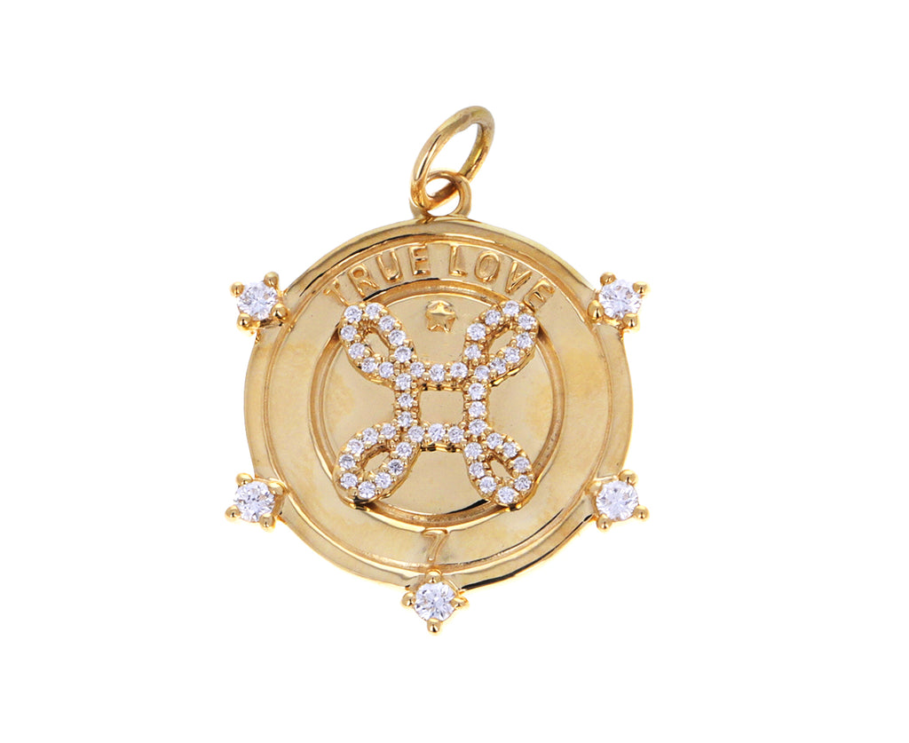 Medium True Love Medallion Pendant ONLY