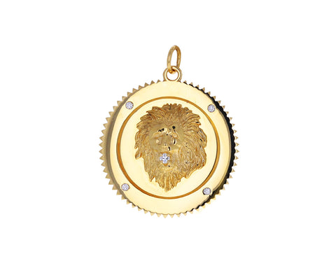 Large Strength Medallion Pendant ONLY