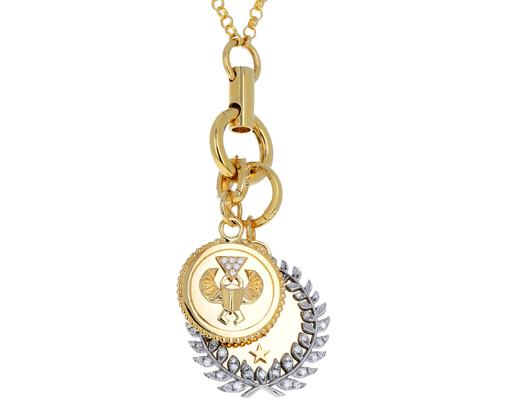 Diamond Per Aspera ad Astra Medallion Pendant ONLY