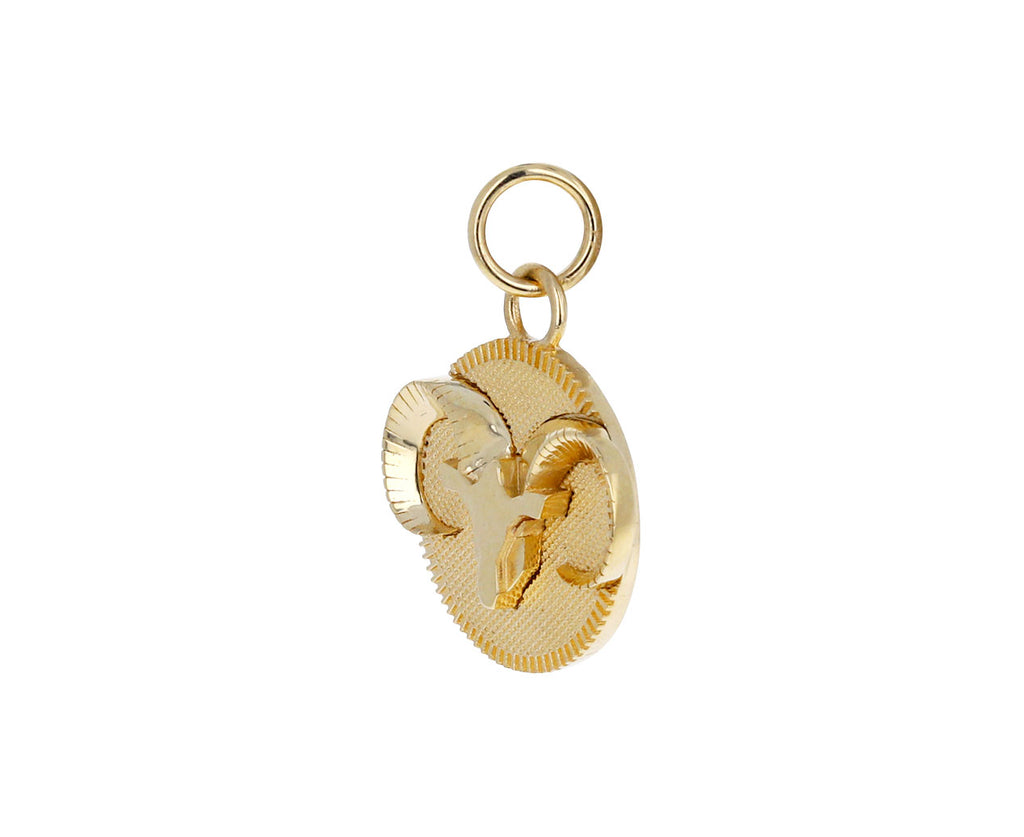 Aries Zodiac Baby Medallion ONLY