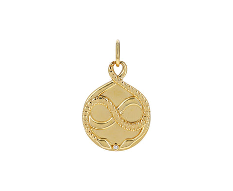 Gemini Zodiac Baby Medallion ONLY