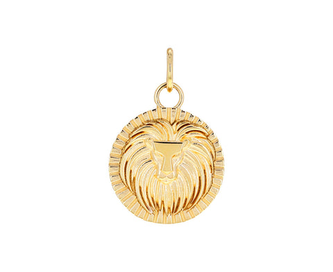 Leo Zodiac Baby Medallion ONLY