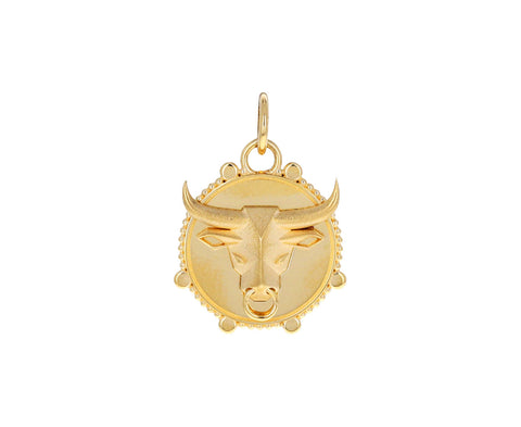 Taurus Zodiac Baby Medallion ONLY