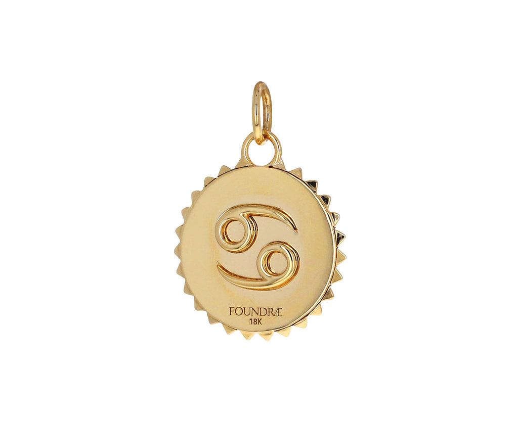 Cancer Zodiac Baby Medallion ONLY