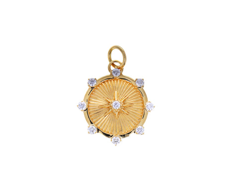 Baby Spark Medallion Pendant ONLY