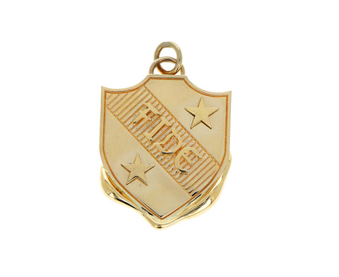 Fide Vestige Crest Medallion ONLY