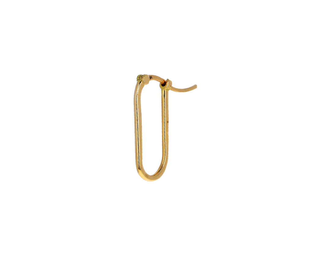 Small Fob Link Base SINGLE Earring