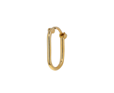 Petite Fob Link SINGLE Base Earring