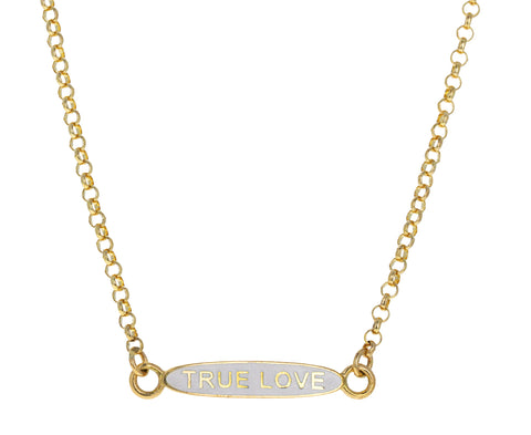 True Love Sequence Chain Necklace