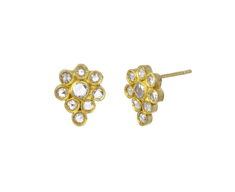 Diamond Paisley Earrings - TWISTonline
