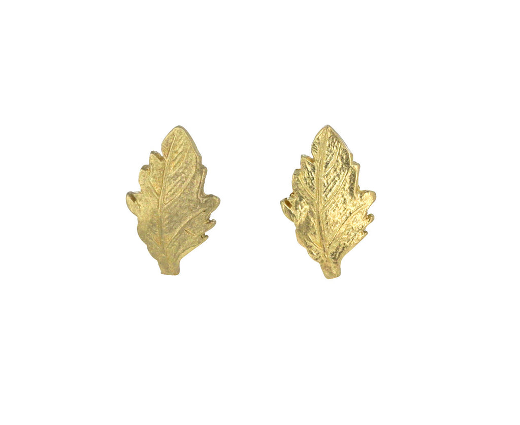 Mini Oak Leaf Studs