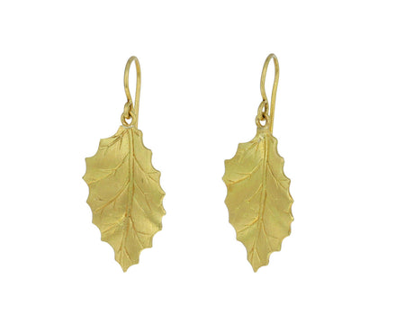Holly Leaf Earrings