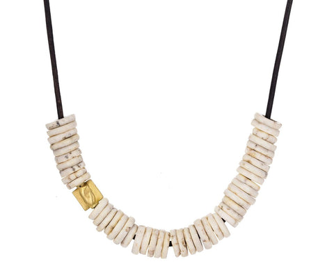 Shell and Gold Bead Necklace - TWISTonline