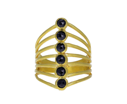 Black Diamond Vertebrate Ring