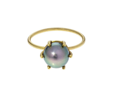 South Sea Pearl Stacking Ring - TWISTonline