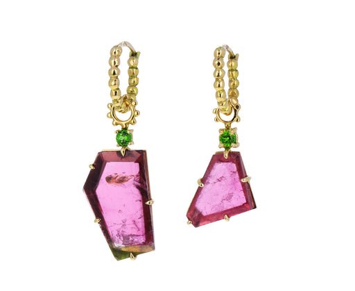 Watermelon Tourmaline Color for Life Hoop Charms ONLY