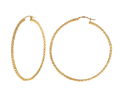 Zelie Hoop Earrings