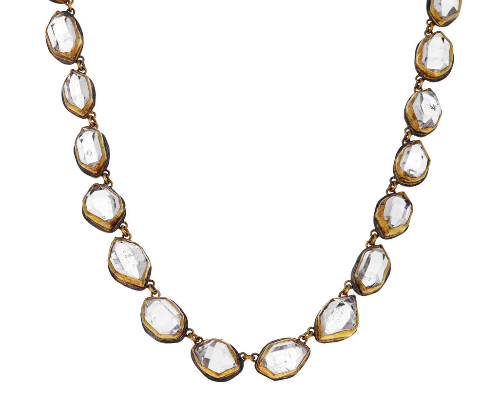 Herkimer Diamond Chain Necklace