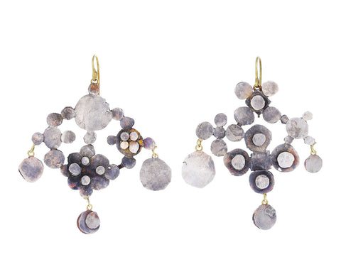 Silver Bombastic Chandelier Earrings