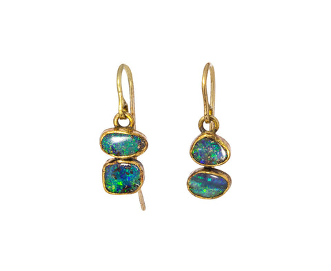 Flashy Opal Earrings - TWISTonline