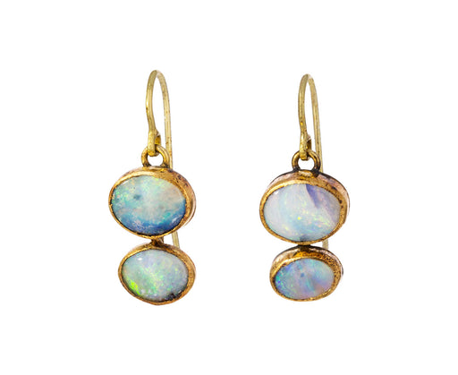 Double Opal Earrings - TWISTonline