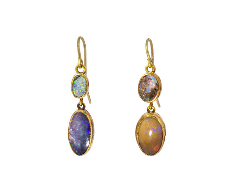 Opal Drop Earrings - TWISTonline