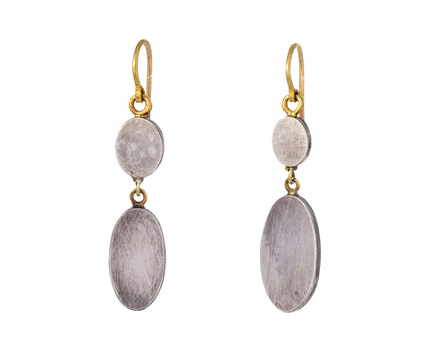Superflat Double Oval Earrings - TWISTonline