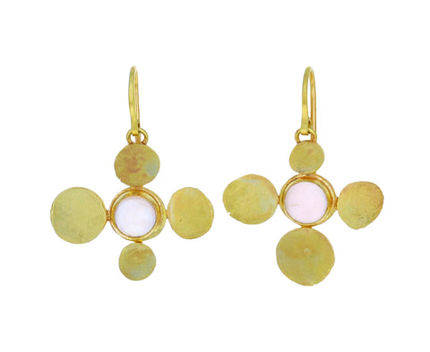 Rose Quartz Squash Earrings - TWISTonline