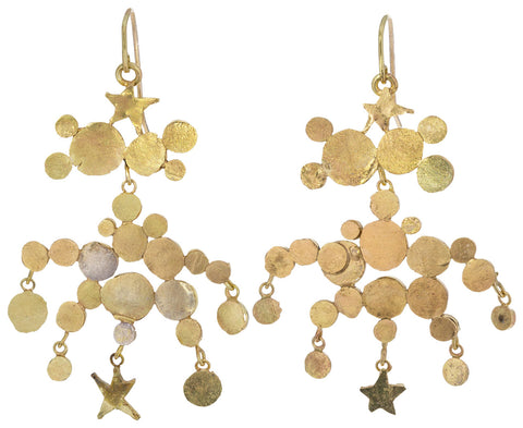 Star Squash Chandelier Earrings - TWISTonline