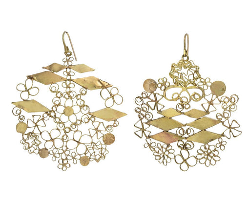 Gold Studio Sweep Earrings - TWISTonline